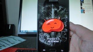 Android 4.3 Für Das Samsung Galaxy Note 1 N7000
