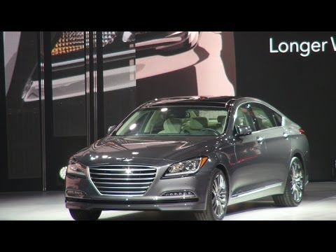 Watch the 2015 Hyundai Genesis Debut at the Detroit Auto Show