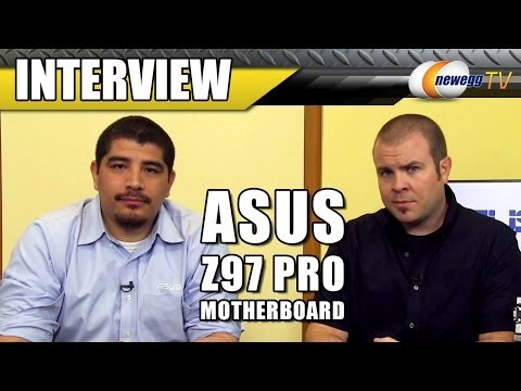 ASUS Z97 Pro Motherboard Overview with J.J. - Newegg TV