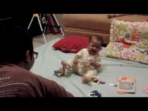 Baby Laughing   Bayi Ketawa Ngakak #Genji   @SlametRaharjo2 @GebyArdya