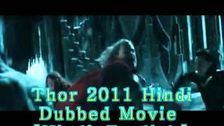 Thor 2011 Hindi Dubbed Movie[Hindi-English] 720p Online