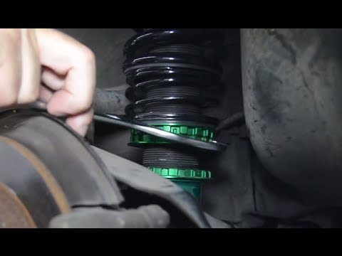 How do I adjust the preload on my coilovers? Presented by Andy's Auto