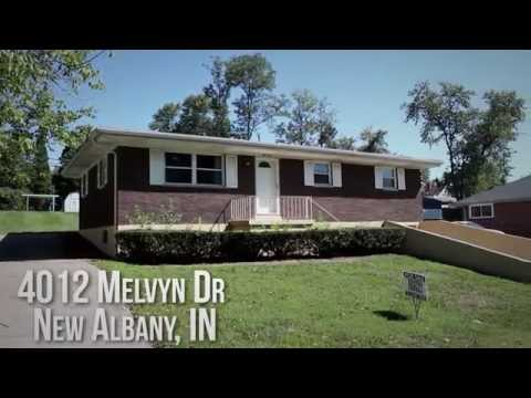 Real Estate Auction, 4012 Melvyn Drive, New Albany, Lincoln Crum Auctioneer