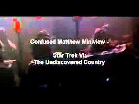 Star Trek VI: The Undiscovered Country - Sulu Trailer and iPhone 4 and iPhone 5 Case