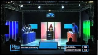 Génies en Herbe : 1/4  finale - Maison d'éducation  Mariama  BA vs Lycée David Diop Mendes