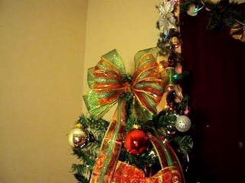 Como hacer mo o navide o para el arbol de navidad youtube - Tutorial arbol de navidad ...