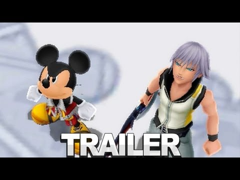 Kingdom Hearts 3D Trailer - Dream Drop Distance - E3 2012, Kingdom Hearts is back. Watch as Mickey and other join forces for their next 3D adventure! Head over to IGN for more Kingdom Hearts: http://www.ign.com/games...