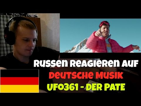 RUSSIANS REACT TO GERMAN MUSIC | Ufo361 - DER PATE | REACTION TO GERMAN RAP