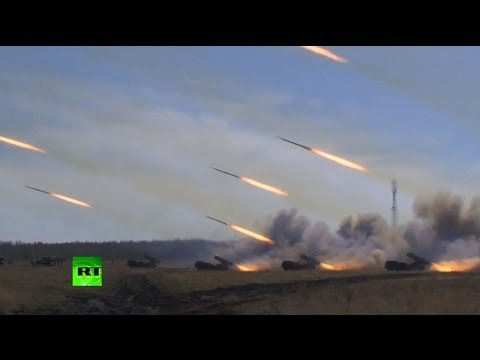 Video: Russia test-launches missiles during planned military drills