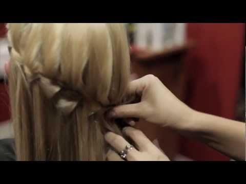 How To - Waterfall Braid