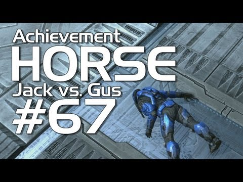 Halo: Reach - Achievement HORSE #67 (Jack vs. Gus)