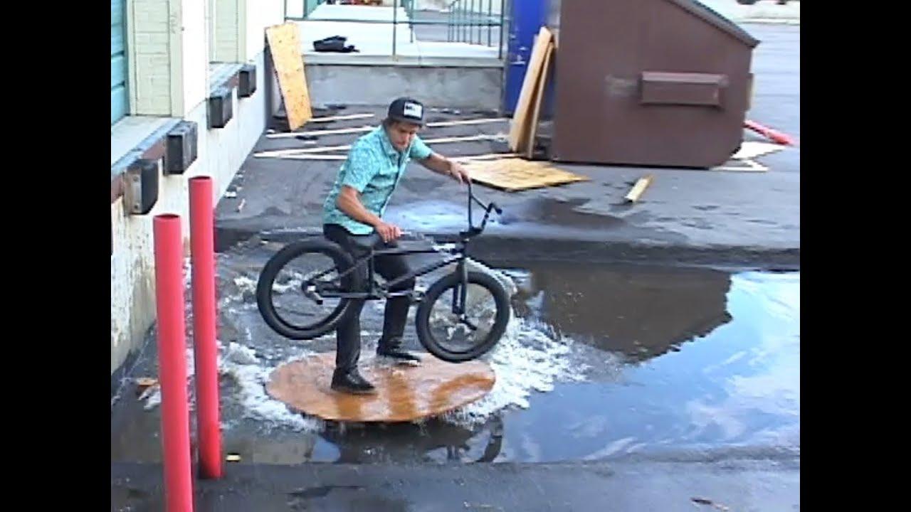 Une façon originale de faire du BMX
