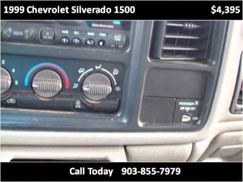 1999 Chevrolet Silverado 1500 Used Cars Pittsburg TX