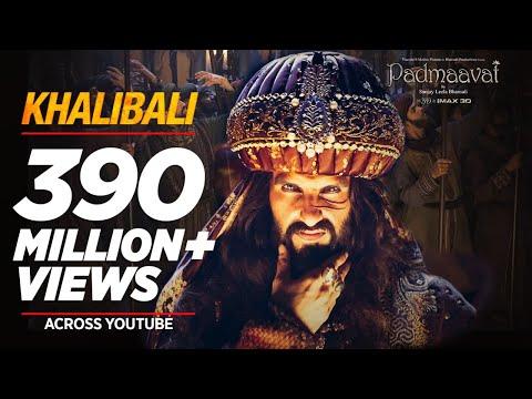 Padmaavat---Khalibali-----Ranveer-Singh