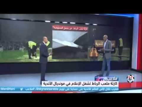 صحفي جزائري والملاعب المغربية