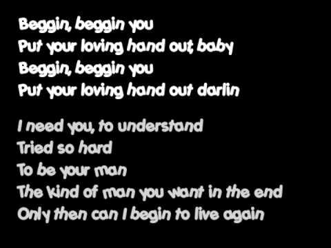 Beggin.Phillip Phillips Lyrics Video
