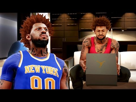 NBA 2k16 My Career Gameplay Ep. 15 - FLAGRANT FOUL! Signature Shoe Prototype for Bridges