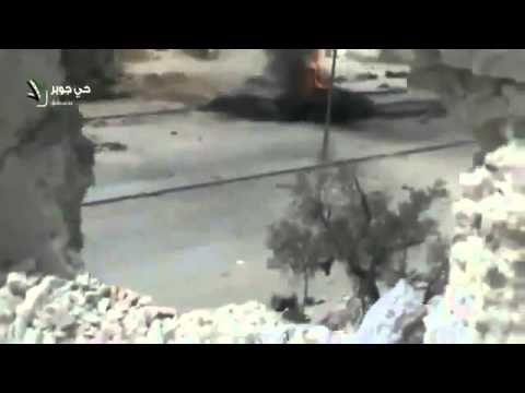 Syrian army loses tank clashes with syrian rebels 19 3 damascus