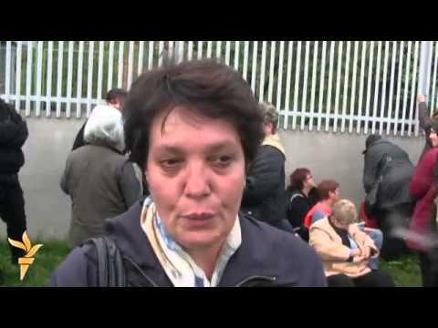 Sarajevo: Protest bivših radnica