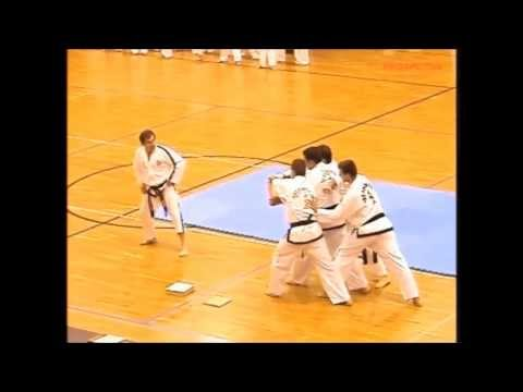 Master Kesoglou TAEKWON-DO ITF demonstration.