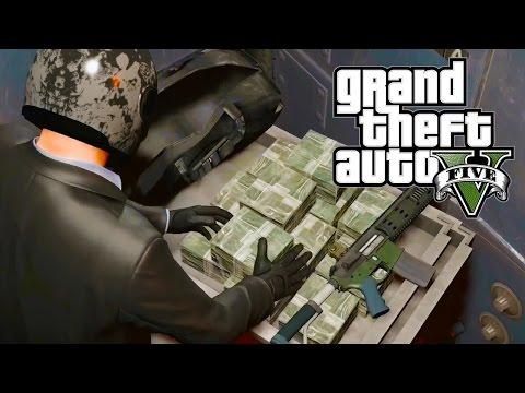 Cướp Ngân hàng ( Bank Heist ) vs Tấn Công Trụ Sở YouTube Trong GTA V #1 500 Hy Sinh - ThanhTrungGM