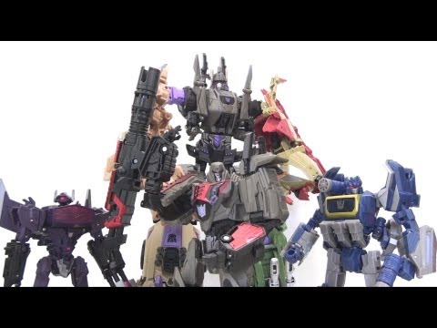 Video Review of the 2012 SDCC Exclusive: Bruticus