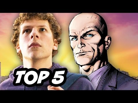 Jesse Eisenberg Lex Luthor - Top 5 Reactions
