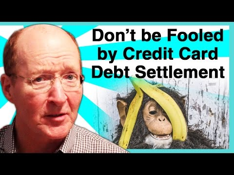 WARNING - Credit Card Debt Settlement Does Not Work! How to Settle/Negotiate Credit Card Debt Video