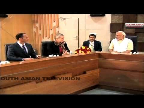 Video: US envoy Nancy Powell meets Modi