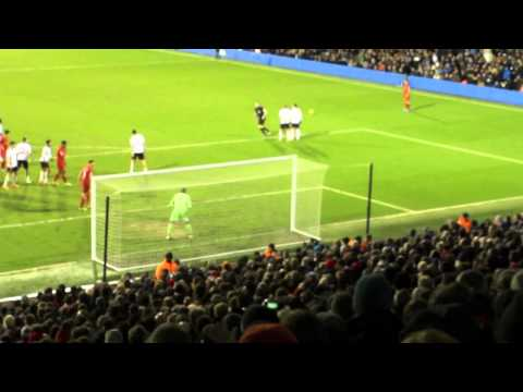 Fulham v Liverpool Rare Fans Footage Gerrard Penalty to Win Thriller 3-2