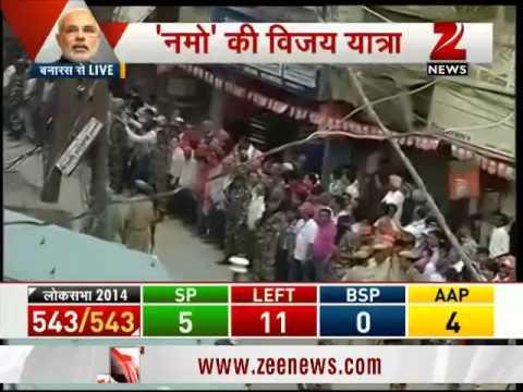 Narendra Modi to reach Varanasi for Ganga aarti
