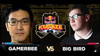 Red Bull Kumite 2016 : Gamerbee vs Big Bird - Losers Round 3