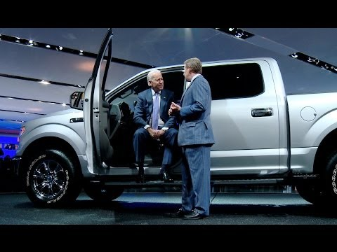Vice President Biden Addresses the North American International Auto Show