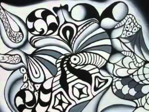 Abstrak Hitam Putih