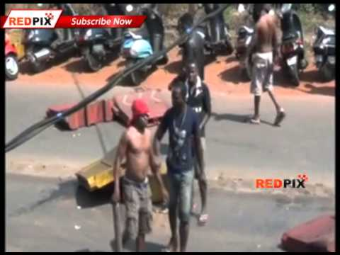 Nigerian & Goan Bloody Clash In Goa -  Red Pix