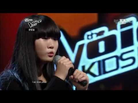 korean Voice Kids winner.