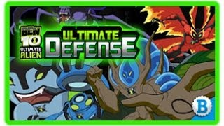 Ben 10 Ultimate Defense Ben 10 Games