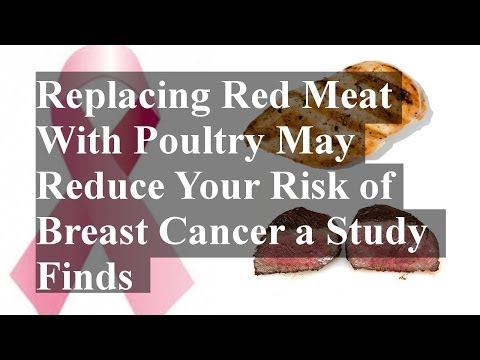 Replacing Red Meat With Poultry May Reduce Your Risk of Breast Cancer a Study Finds
