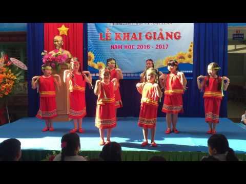 Bài múa Niềm Vui Của Em nhân ngày 5/9/2016 Trường TH Lê Anh Xuân QTB