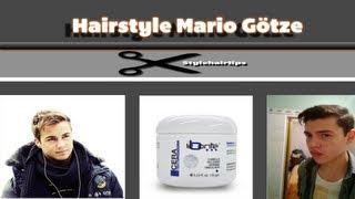 Mario Götze-Men's Hairstyle- Peinado De Hombre Insipirado