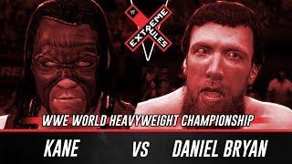 WWE 2K14 Extreme Rules 2014 Daniel Bryan Vs Kane (WWE