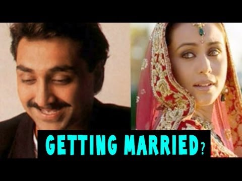 Rani Mukerji - Aditya Chopra to tie-the-knot on Valentine's Day ?