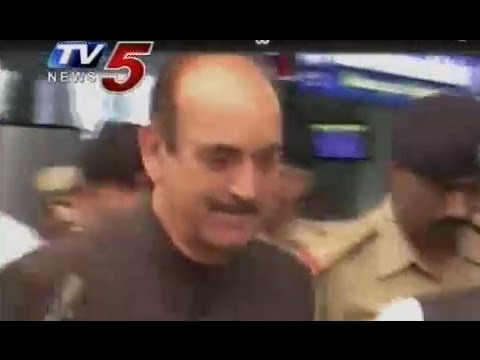 Tight Security In Hyderabad for Ghulam Nabi Azad Tour