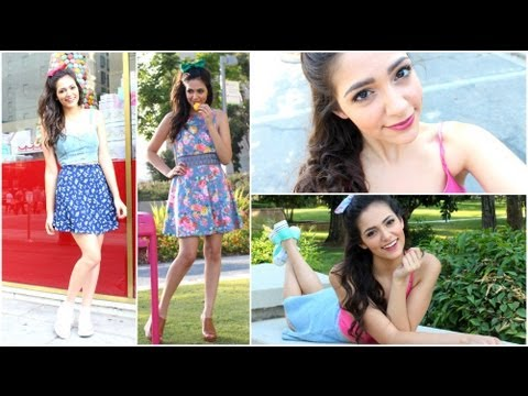 Ariana Grande Hair, Makeup, & Outfit! (Celeb Style), Thumbs up for more Celebrity Style videos! 👍😊 Here's my links! So we can chat all day err day..hehe :) Instagram: Bethanynoelm Keek: BethanyMota Vine: Bethan...