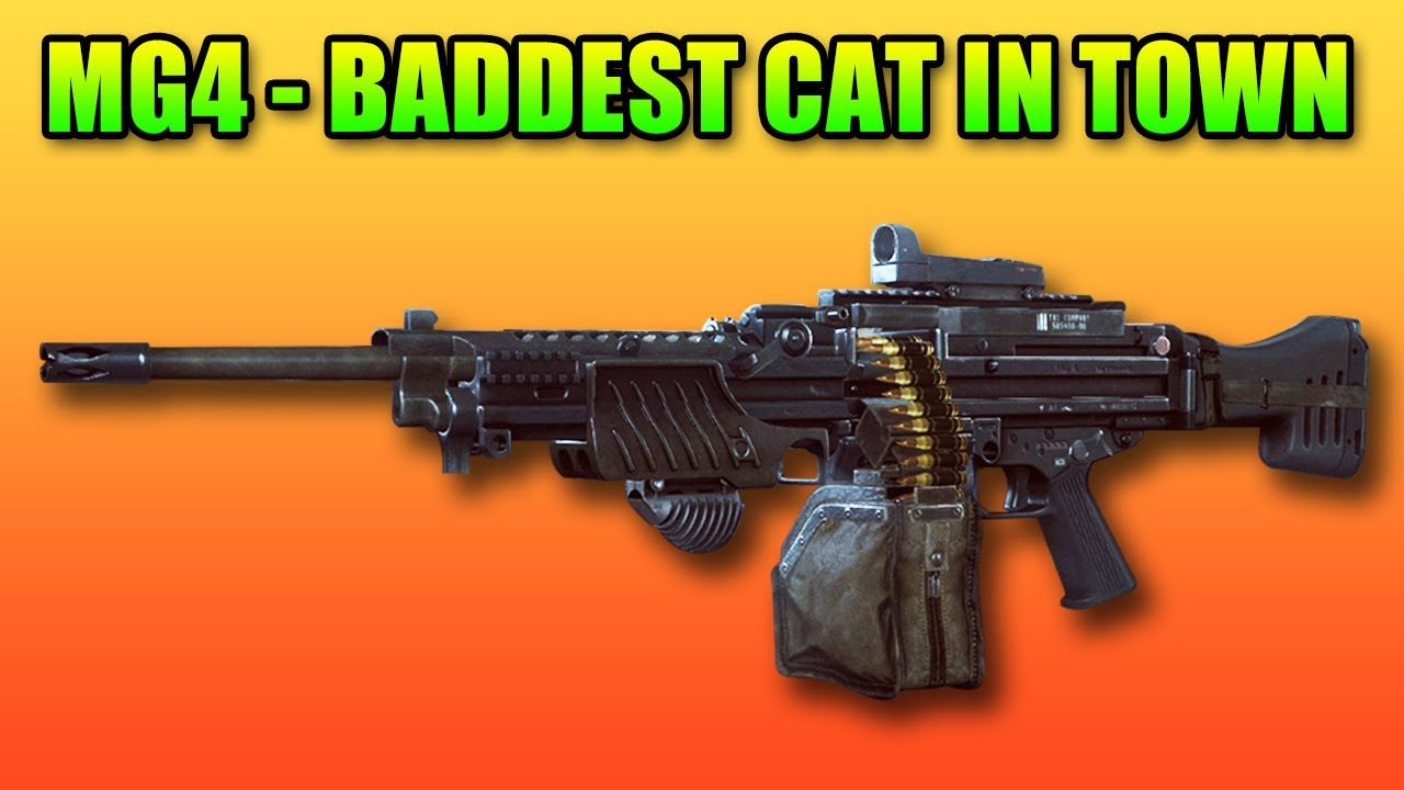 Mg4 Review The Ultimate Aggresive Lmg Battlefield 4