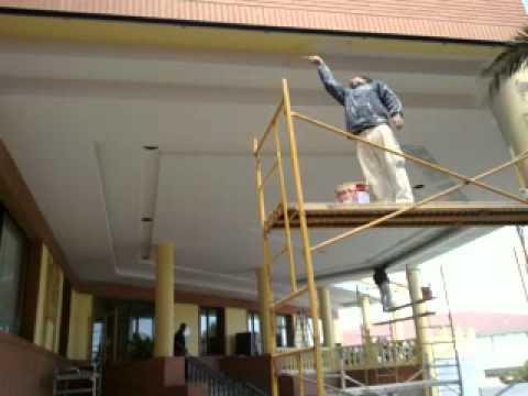 Decoracion techos de pladur youtube for Decoracion de pladur