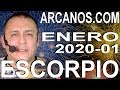 Video Horóscopo Semanal ESCORPIO  del 29 Diciembre 2019 al 4 Enero 2020 (Semana 2019-53) (Lectura del Tarot)