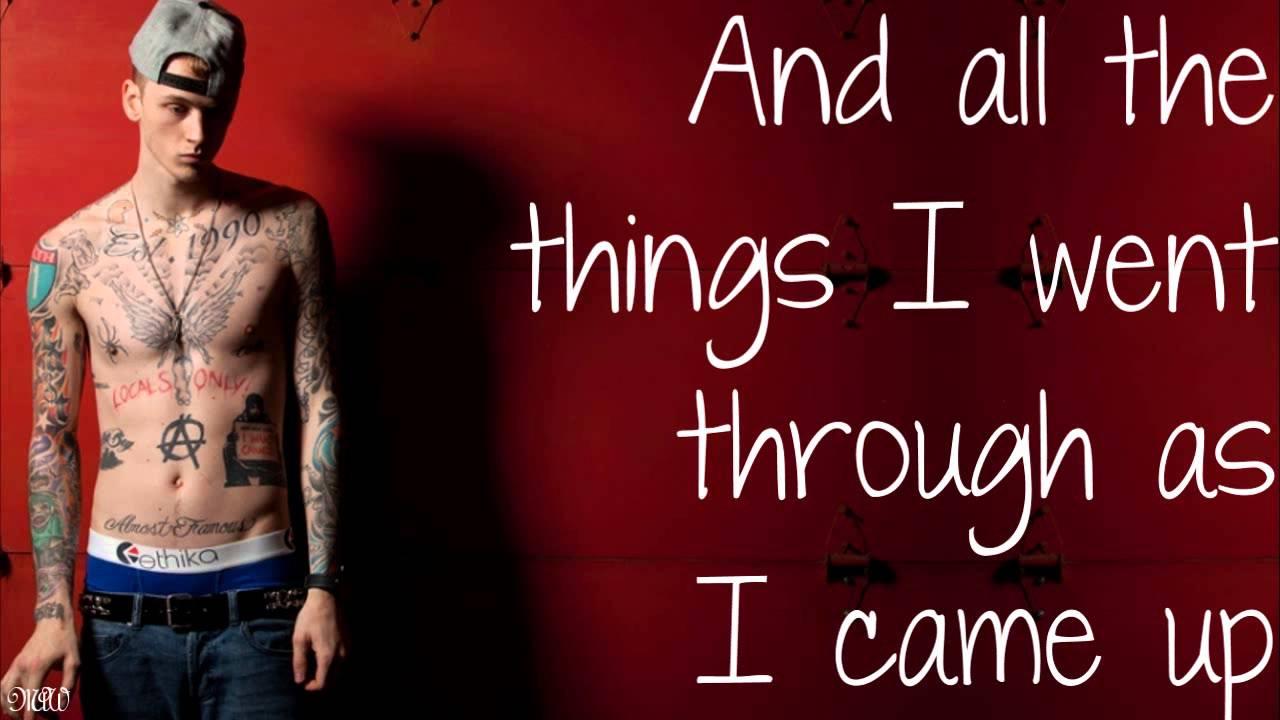 Mgk Ft Kellin Quinn Swing Life Away With Lyrics Youtube
