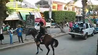 Caida de caballo en feria