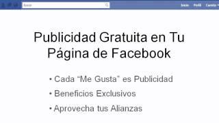 Publicidad gratuita en Facebook
